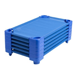 Stackable Blue Cots